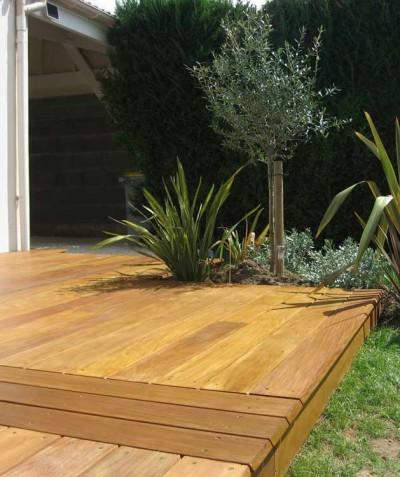Terrasse bois pour votre jardin à Saint Mars de Coutais - 44