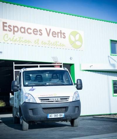 Bâtiment ADJ Espaces Verts à Saint Mars de Coutais