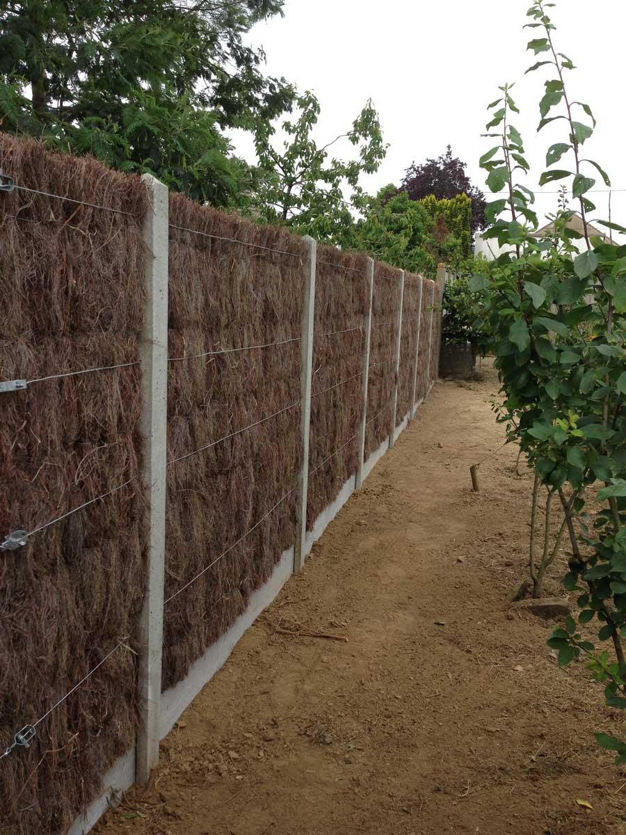 adj espaces verts paysagiste saint mars de coutais 44 palissade branchage bois protection. Black Bedroom Furniture Sets. Home Design Ideas