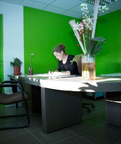 Adeline Jouitteau, paysagiste à Saint Mars de Coutais - Gérante ADJ Espaces Verts