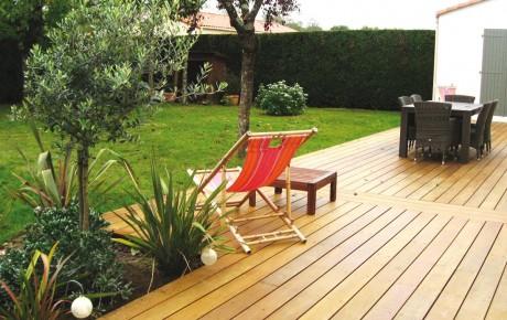 Aménagement de jardin près de Bouaye - Nantes 44 par ADJ Espaces Verts